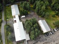 letecký pohled - Prodej penzionu 750 m², Staňkov