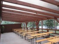 venkovní terasa - Prodej penzionu 750 m², Staňkov
