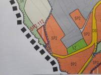mapa ÚP (Prodej pozemku 1801 m², Jablonec nad Nisou)