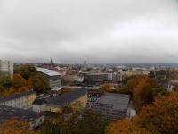 pohled z lodžie (Prodej bytu 4+1 v osobním vlastnictví 80 m², Liberec)