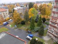 pohled z kuchyně (Prodej bytu 4+1 v osobním vlastnictví 80 m², Liberec)