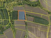 mapa z KN (Prodej pozemku 16250 m², Dílce)