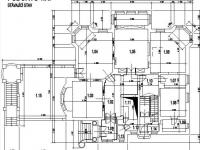 Půdorys 1. NP  - Pronájem kancelářských prostor 600 m², Jablonec nad Nisou