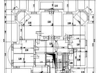 Půdorys 2. NP  - Pronájem kancelářských prostor 600 m², Jablonec nad Nisou