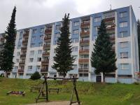 foto 2 - pohled na dům (Prodej bytu 3+1 v osobním vlastnictví 74 m², Jiřetín pod Bukovou)
