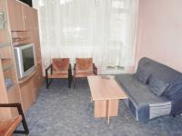 foto 15 - obývací pokoj s lodžií (Prodej bytu 3+1 v osobním vlastnictví 74 m², Jiřetín pod Bukovou)
