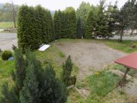 pohled z balkónu (Prodej penzionu 1500 m², Zlatá Olešnice)