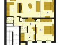 plánek (Pronájem bytu 4+1 v osobním vlastnictví 110 m², Jablonec nad Nisou)