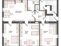 půdorys bytu č. 2 (Prodej bytu 4+kk v osobním vlastnictví 130 m², Liberec)