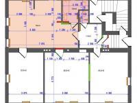 půdorys bytu č. 1 (Prodej bytu 4+kk v osobním vlastnictví 130 m², Liberec)