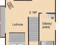 04 - Prodej chaty / chalupy 130 m², Dobšín
