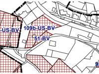 mapa - ÚP (Prodej pozemku 2288 m², Lučany nad Nisou)