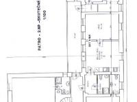 Půdorys 2. NP - Prodej komerčního objektu 366 m², Jilemnice