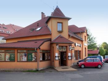 pohled na pension - Prodej penzionu 650 m², Hrádek nad Nisou