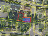 mapa 2 - Prodej pozemku 796 m², Jablonec nad Nisou