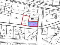 mapa 1 - Prodej pozemku 796 m², Jablonec nad Nisou