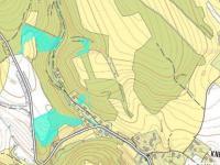 katastrální mapa  - Prodej pozemku 36149 m², Český Dub
