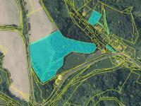 katastrální mapa  - část 2 - Prodej pozemku 36149 m², Český Dub