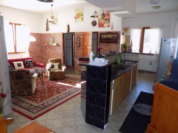 obývací pokoj s kk - Pronájem bytu 3+kk v osobním vlastnictví 90 m², Jablonec nad Nisou