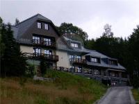 celkový pohled na dům (Prodej bytu Atypický v osobním vlastnictví 100 m², Špindlerův Mlýn)