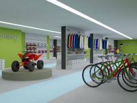 Vizualizace jako obchod (Pronájem obchodních prostor 550 m², Opava)