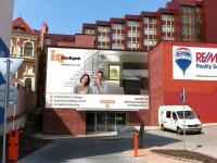 Vizualizace vstupu do prostor (Pronájem obchodních prostor 550 m², Opava)