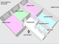 Prodej bytu 3+1 v osobním vlastnictví 76 m², Opava