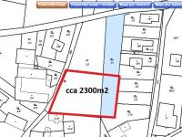 Prodej pozemku 2300 m², Hradec nad Moravicí