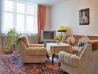 Obývací pokoj (Prodej bytu 3+kk v osobním vlastnictví 90 m², Mikulov)