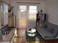 Obývací pokoj (Prodej bytu 2+kk v osobním vlastnictví 42 m², Rousínov)