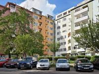 Pohled na dům (Prodej bytu 2+1 v osobním vlastnictví 78 m², Brno)