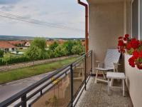Výhled z lodžie, 2.NP (Prodej domu v osobním vlastnictví 210 m², Mikulov)