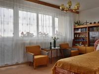Hlavní pokoj s lodžií, 2.NP (Prodej domu v osobním vlastnictví 210 m², Mikulov)