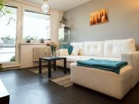 Obývací pokoj (Prodej bytu 2+1 v osobním vlastnictví 56 m², Kroměříž)
