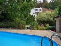 Bazén, teraasa, zahrada (Prodej domu v osobním vlastnictví 245 m², Brno)