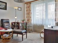 Obývací pokoj (Prodej bytu 1+1 v osobním vlastnictví 34 m², Olomouc)