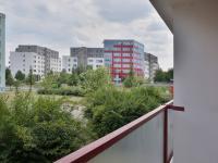 Pohled z lodžie (Prodej bytu 1+1 v osobním vlastnictví 34 m², Olomouc)
