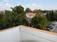 Pohled z lodžie (Pronájem bytu 3+1 v družstevním vlastnictví 72 m², Vyškov)