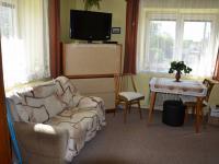 Obývací pokoj  (Prodej domu v osobním vlastnictví 187 m², Kulířov)