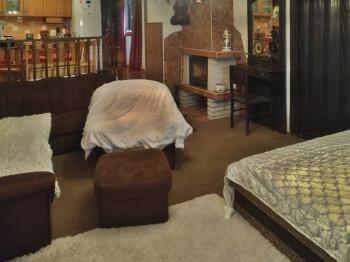 Obývací pokoj 1 - Prodej domu v osobním vlastnictví 170 m², Dětkovice