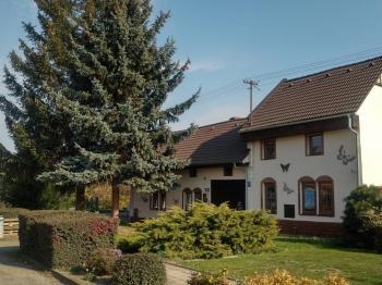 Čelní pohled na dům - Prodej domu v osobním vlastnictví 170 m², Dětkovice