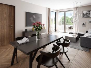 Vizualizace - Prodej bytu 2+kk v osobním vlastnictví 62 m², Olomouc