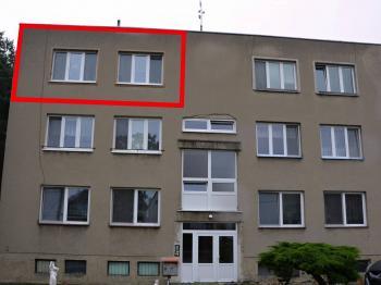 Pohled na dům  - Pronájem bytu 3+1 70 m², Ježkovice