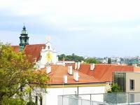 Výhled z balkonu - Prodej bytu 4+kk v osobním vlastnictví 116 m², Brno