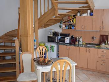 Kuchyně - Pronájem bytu 2+kk v osobním vlastnictví 38 m², Drnovice