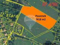 Prodej pozemku 7418 m², Zbraslavice