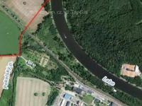 Letecký pohled Mapy.cz (Pronájem pozemku 28255 m², Kolín)