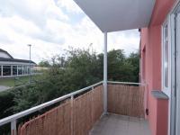 Pohled z balkónu (Pronájem bytu 1+kk v osobním vlastnictví 31 m², Kolín)