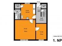 Přízemí (Prodej domu v osobním vlastnictví 137 m², Kolín)