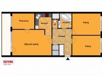 Prodej bytu 4+kk v osobním vlastnictví 72 m², Praha 4 - Háje